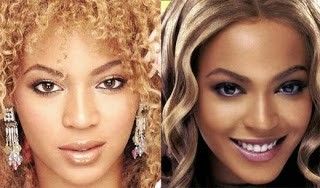 beyonce knowles nose job